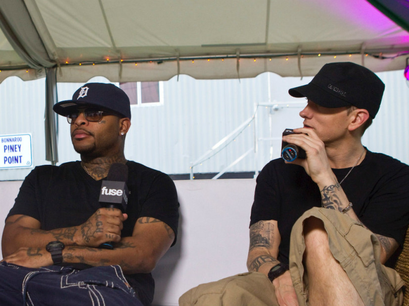 Bad Meets Evil on a tour in 2011. Maybe Royce will relapse soon too?