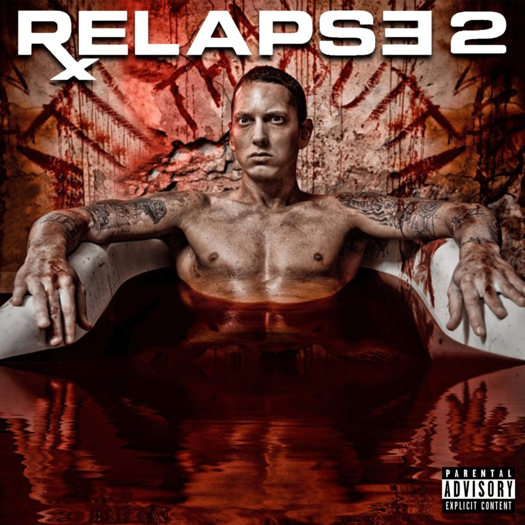 """A fan made """"Relapse 2"""" cover. This is how I would've imagined it, if the album ever came out."""